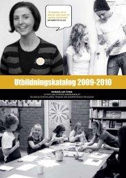 Utbildningskatalog 2009-2010 - InfoMentor
