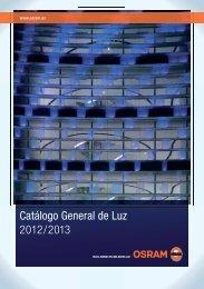 Catálogo General de Luz 2012/2013 - Coeva