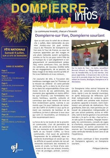juillet / août 2011 - Dompierre-sur-Yon