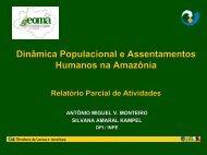 População em Marabá - Geoma