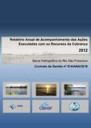 Relatório Anual de Acompanhamento das Ações Executadas com ...