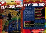 KIDS' CLUB 2010 KIDS' CLUB 2010 - Humph