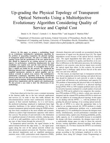 Up-grading the Physical Topology of Transparent Optical Networks ...
