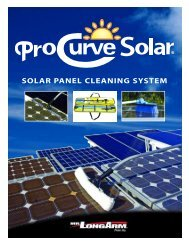 SOLAR PANEL CLEANING SYSTEM - Mr.LongArm Inc.