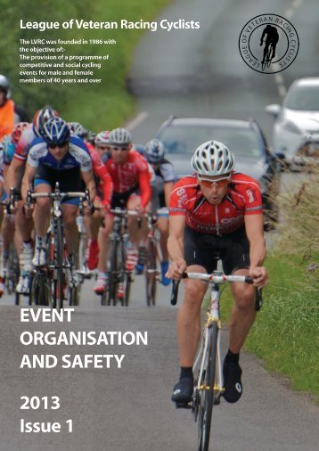 Event Organisation and Safety Manual (PDF) - LVRC