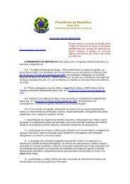 Lei 10.881 (06/2004) - Gestão Pública