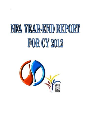 d. Accomplishment Report - 2012 - NFA