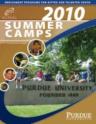 Shell - Gifted Education Resource Institute - Purdue University