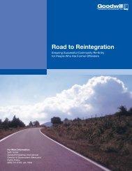 Road to Reintegration - Goodwill Industries International