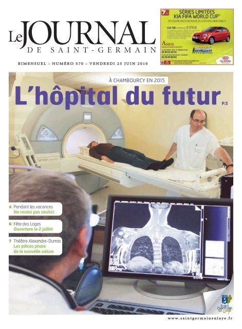 L'hôpital du futur - Saint Germain-en-Laye