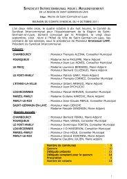 Procès verbal du 4 octobre - Saint Germain-en-Laye