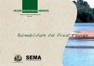 Balneabilidade das Praias Fluviais 2008 a 2010.pdf - Sema/MT