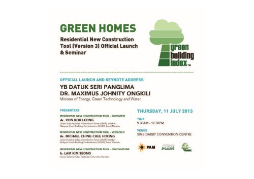 Ar  Boon Che Wee - GBIAP Chairman [PDF] - Green Building Index