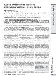 časté komunitní infekce dětského věku a jejich léčba - Solen