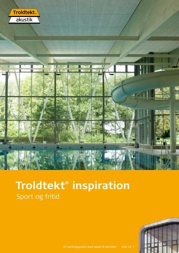 Troldtekt® inspiration - Tepo AS
