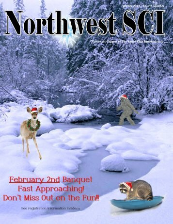 Winter 2012—Fourth Quarter Northwest Chapter of The ... - Scinw.com