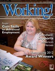 Working! Volume 15, No. 1 - Goodwill Industries International