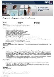 Fortgeschrittene Baugruppenverwaltung mit Creo ... - Shop - Inneo