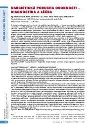 narcistická porucha osobnosti – diagnostika a léčba - Solen