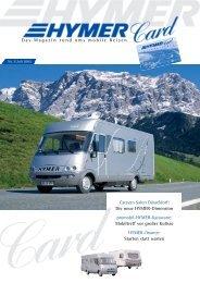 Das Magazin rund ums mobile Reisen Caravan ... - HYMER.com