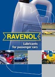 Ravenol Oils & Lubricants Catalog - Dune-me.com