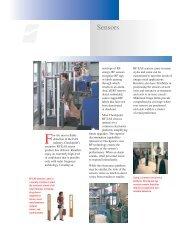 Sensors Brochure (PDF, 98K) - United Label