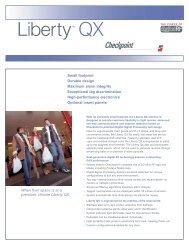 Liberty QX Data Sheet (PDF, 52K) - United Label