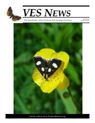 VES News - Summer 2010 - Vermont Entomological Society