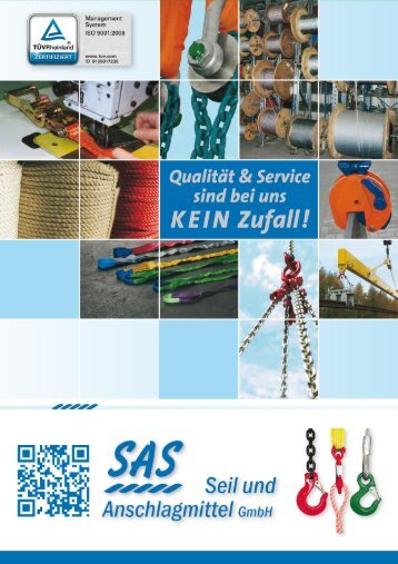 SAS Hauptkatalog Ausgabe 5 Seil und Anschlagmittel GmbH