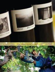 POV, NAPA VALLEY ~ 2007 - Robert Sinskey Vineyards
