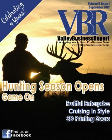 September 2013 - Valley Business Report