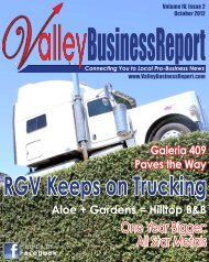 October 2012 - Valley Business Report