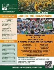 Fall 2013 - Brandywine Valley Association