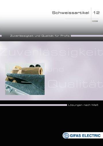 Qualität - GIFAS ELECTRIC GmbH