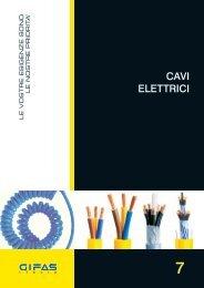 CAVI ELETTRICI - Gifas Elettromateriale Srl