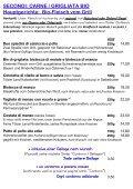 STANDARD-SPEISEKARTE / Menù regolare - Bio-Hostaria RÒ E BUNÌ - Seite 4