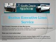 Boston Executive Limo Bus
