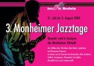 3. Jazztage Monheim - Hurricane Brassband