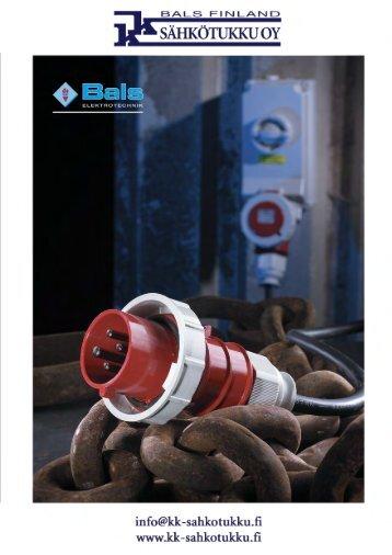 Bals, short exhibition brochure in Russian