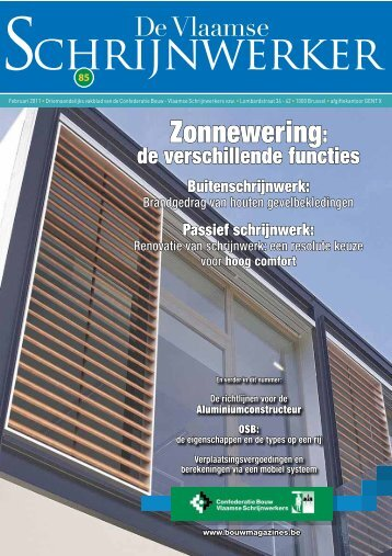 Vlaamse Schrijnwerker_februari_2011.pdf - Bouwmagazines