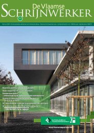 Vlaamse Schrijnwerker_februari_2009.pdf - Magazines Construction