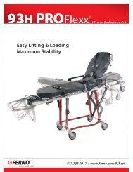 93 H PROFlexx Sales Sheet - Ferno