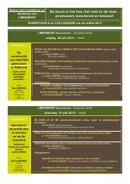 conferenties ivm het thema - La Foire de Libramont