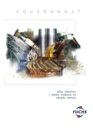 Ulja, tekućine i ostala sredstva za obradu metala - FUCHS Maziva