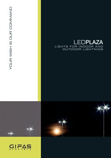 LED street light PLAZA - Arti Logistic