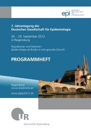 26. September 2012 - 7. Jahrestagung der Deutschen Gesellschaft ...