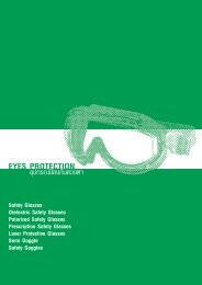 อุปกรณ์ปกป้องดวงตา Eye Protection