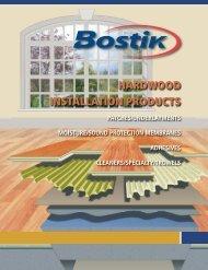Hardwood Installation Products (H15) - Bostik, Inc