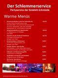 Der Schlemmerservice Partyservice der  Kotelett-Schmiede - Seite 5