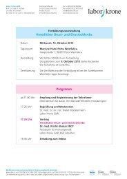 Veranstaltungsinfo als PDF runterladen - Labor Krone